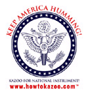 OFFICIAL AMERICAN KAZOO CAMPAIGN T-SHIRT